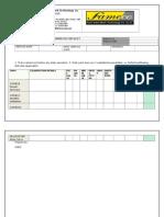 11- Monthly Compressor Checklist