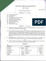 FAA OU Question Paper 2010 JULY 1