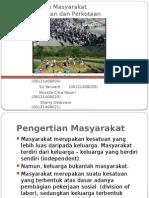 PPT-Budaya Masyarakat Pedesaan Dan Perkotaan