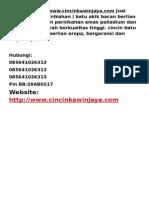 Cincin Kawin - Www.cincinkawinjaya.com