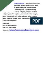 Sepatu Futsal Murah Original-pendopostore.com