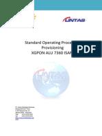 SOP XGPON ALU Provisioning v1 13112014(1)