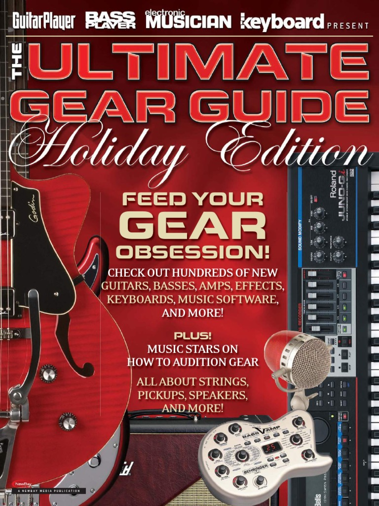 Guitar Player 2011 Ultimate Gear Guide Holiday Edition Guitars A Frequency Doubler Effect For Electric Bass