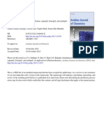 20013_Farhan Ahmed Siddiqui,Simultaneous Determination of Metformin, Captopril, Lisinopril, And Enalapril
