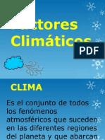 Factores climáticos