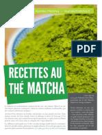 Recettes Au Thé Matcha - Kumiko