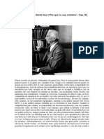 Bertrand Russell - Por qué no soy cristiano (Cap IX)