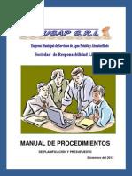 Manual Proced Planif Presup Dic 2013(1)