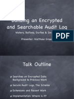 Search Able Encrypted
