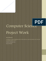 CS Project Work