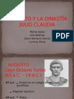 AUGUSTO Y LA DINASTÍA JULIO CLAUDIA.pptx