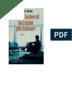 Alain de Botton - Despre Farmecul Lucrurilor Plictisitoare