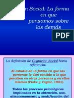 Cogniciono Social, Actitudes y Atribuciones