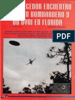 Estremecedor Encuentro Entre Un Bombardero y Un Ovni en Florida R-080 Nº054 - Reporte Ovni