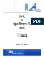 RF Measurement Basics