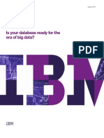 Is your database ready for big data?