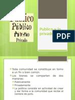 VI. Publico y Lo Privado