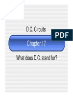 chapter 17 - d c  circuits