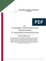 El Paradigma Latinoamericano de La Educacomunicacion