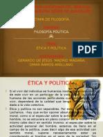 IV. Expo.etica y Politica.