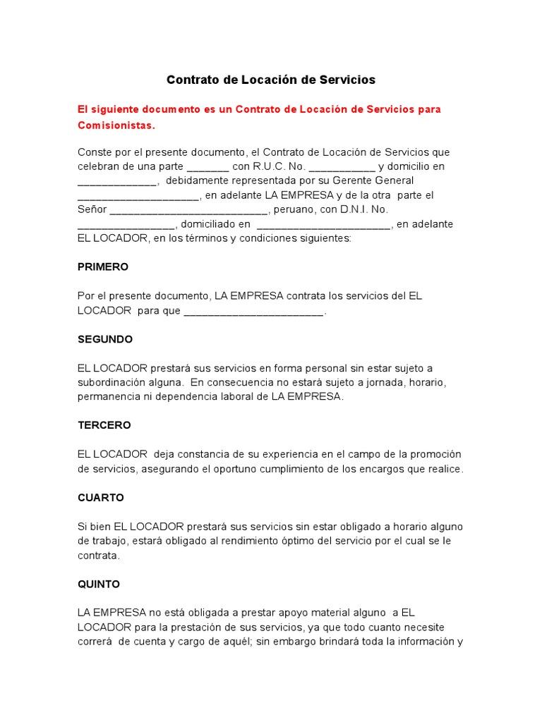 Contrato de locación de servicios para comisionistas - Modelo.docx