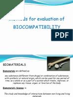 LEZ 2 Biocompatibility Evaluation