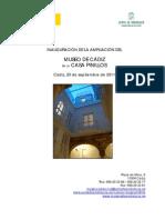 Cadiz Pinillos 2011 Dossier