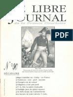 Libre Journal de la France Courtoise N°090