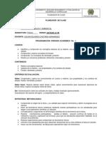 Planeador de Clase de Fisica Octavos y Novenos 2015