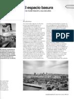 Rem Koolhaas, Espacio basura, Arquitectura Viva, 74 (2000)