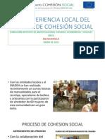 Experiencia Local Del Proceso de Cohesion Social