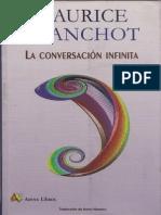 Blanchot LaconversacioninfinitaI Libre