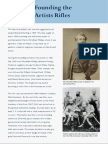 Founding the Artists Rifles