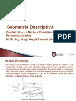 G. Descriptiva Capítulo IV - El Plano