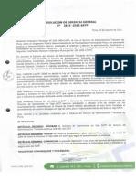 Sat Piura , Funciones de Caja-2012