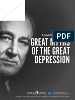Great Myths of Great Depression