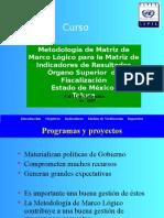 Metodología de Matriz de Marco Lógico