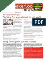 Bakerloo News (February-March)