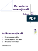 Dezv Emotionala 0-3 Ani