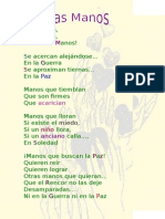 Las Manos Poema