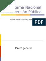 Sesion 1 - El Sistema Nacional de Inversión Pública - Taller v.1.5