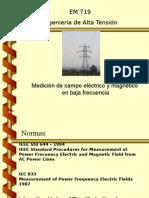 Medicion de Campo Electrico y Magnetico