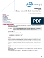 McAfee File and Removable Media Protection (FRP) 4.3.1 - Release Notes - En
