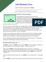 Dutch - How to Know God.pdf