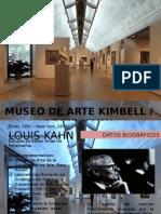 Museo de arte Kimbell (Louis Kahn)