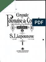 Liapounov Polonaise Op55