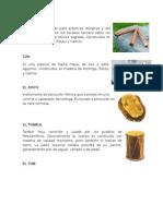 instrumentos guatemaltecos autoctonos