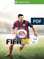 Fifa-15-Manuals Microsoft Xbox One