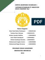 Analisis Laporan Keuangan Konsolidasian PT Indofood Sukses Makmur Tahun 2013