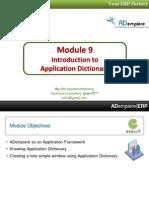 09 Application Dictionary